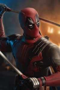 360x640 Deadpool 2 Artwork 5k