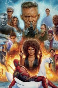 Deadpool 2 Mocking Poster