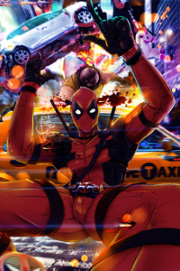 Deadpool 2 New Art