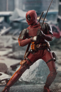 640x1136 Deadpool 2 New