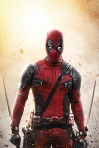 640x1136 Deadpool 2 New Poster