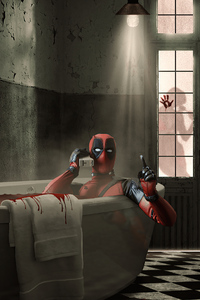 1080x2280 Deadpool 2020 Arts