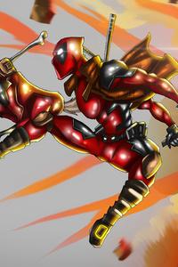 480x854 Deadpool 2020 Artwork