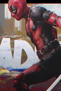 1440x2960 Deadpool 2artwork 4k