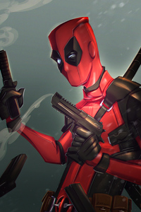 1280x2120 Deadpool 4k 2020 Artwork