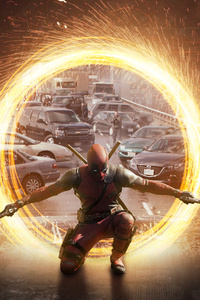 Deadpool 4k Art New