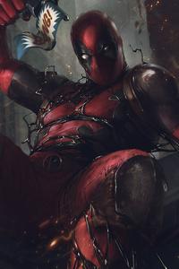 Deadpool 4k Artwork 2020