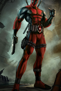 Deadpool 4k Digital Art