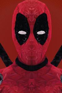 Deadpool 4k Low Poly