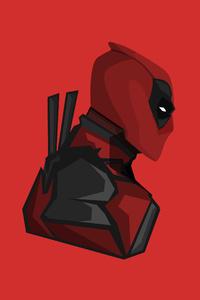 Deadpool 4k Minimalism