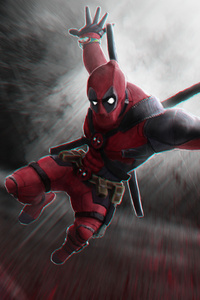 Deadpool 4k New Art