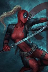 Deadpool And Ladydeadpool