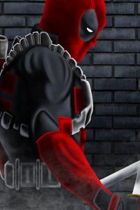 1080x2160 Deadpool Art New 2019