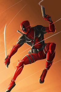 Deadpool Art Sword
