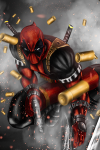 Deadpool Artwork 2018 HD