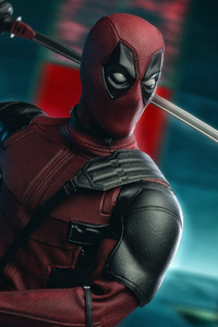 1080x2280 Deadpool Artwork 4k New
