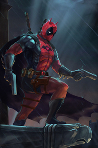 Deadpool As Batman