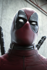 Deadpool Closeup Artwork