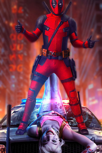 1080x1920 Deadpool Cool