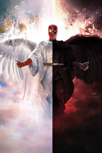 Deadpool Devil And Angel