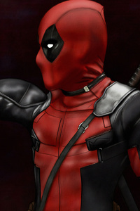 540x960 Deadpool Gun 4k Art