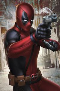 540x960 Deadpool Gun 4k
