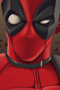 1280x2120 Deadpool Gun Boy
