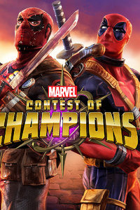 1440x2960 Deadpool Marvel Contest Of Champions