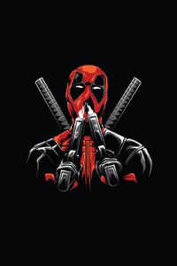 Deadpool Minimal Design