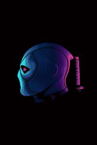 Deadpool Minimalism 4k 2020