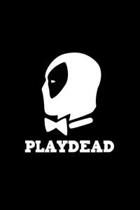 1242x2688 Deadpool Minimalism