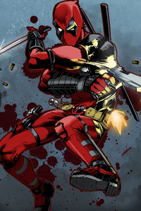 Deadpool New Art 5k