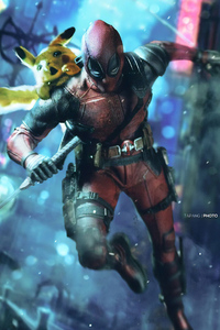 800x1280 Deadpool Pika