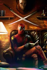 Deadpool Reading Book