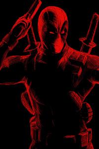 Deadpool Red Art