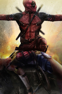 540x960 Deadpool Saved Wonder Woman