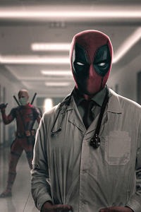 1242x2688 Deadpool Take My Mask Doctor