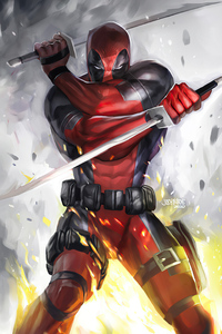 Deadpool Two Swords