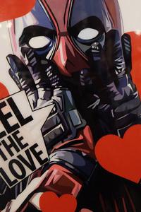360x640 Deadpool Valentine Day Poster 4k