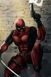 320x568 Deadpool WarZone