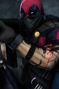 Deadpool With Big Gun
