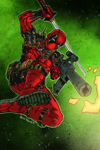 Deadpool With Gun