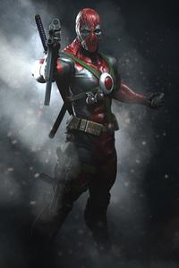 Deadpool With Guns Digital Art