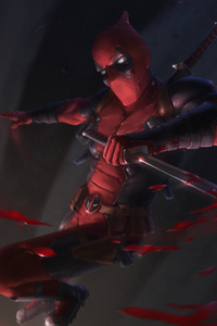 Deadpool With Sword