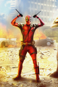 Deadpool X Force 4k