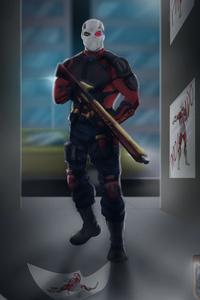 1440x2560 Deadshot Artwork
