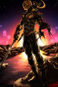 Deathstroke 2020 4k Artwork