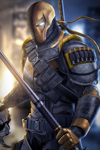 Deathstroke 2020 Art
