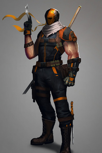 240x320 Deathstroke 4k 2020 Art
