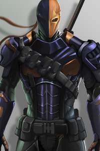 1080x2280 Deathstroke Arts